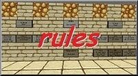 Minecraft rules for Admins and Moderators island pvp skyblock server075