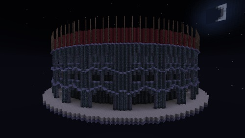 Colosseum pvp arena part 2 Minecraft server Island PVP and SkyBlock